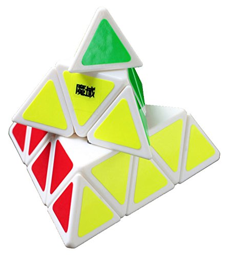 Fire Loli 1 X New. Moyu Pyraminx Speed Cube White classic