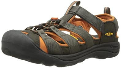 KEEN Men's Commuter III Cycling Shoe,Black Olive/Bombay Brown,7 M US