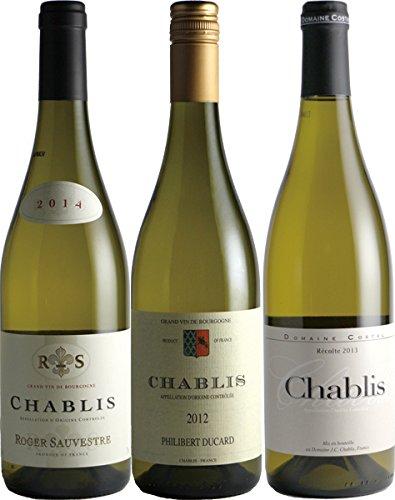シャブリ 白ワイン 飲み比べ 750ml 3本セット