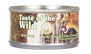 Taste of the Wild Rocky Mountain Feline Formula Cat Canned Food