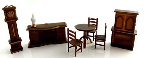"1:36 Scale 8 Pc 1/4"" Dining Room SET #G1453 - 1"