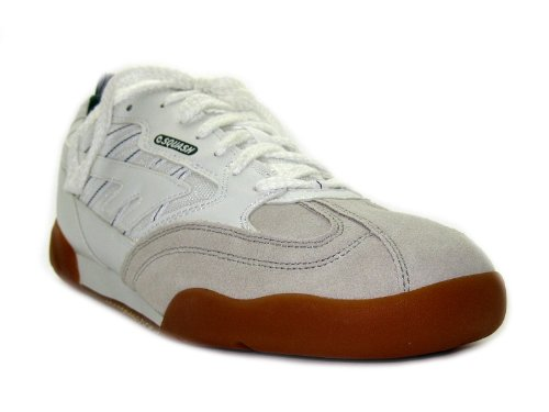 Hi Tec Mens Squash Classic White Lace Up Hi-tec Squash Shoes