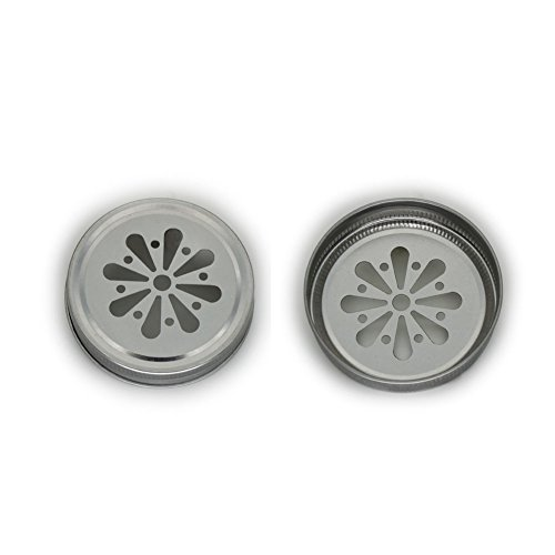 Mason jar lids,daisy-shaped cut-out,5-pack