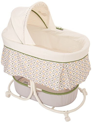 Summer Infant Soothe and Sleep Bassinet with Motion, Sweet Lamb - 1