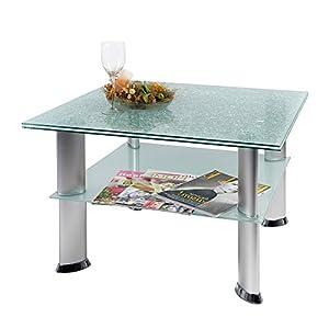 Tisch couchtisch glastisch k che haushalt for Couchtisch crashglas