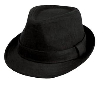 22cc1e963a717 Sakkas Unisex Structured Wool Fedora Winter Hat