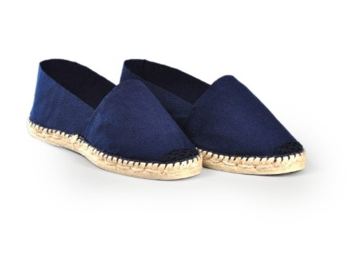 Espadrille-homme-bleu-marine-artisanale-made-in-france-pays-basque