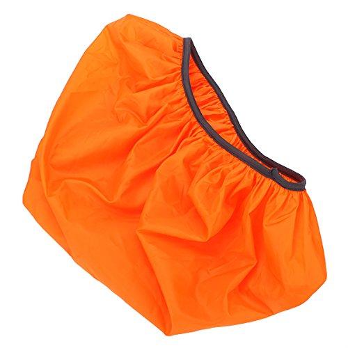 Orange 36-55L Backpack Rucksack Waterproof Rain Cover For Camping Hiking front-628336
