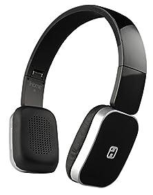buy Sound Design Ib86Bc Foldable Bluetooth Wireless Headphones With Mic & Remote Control, Black