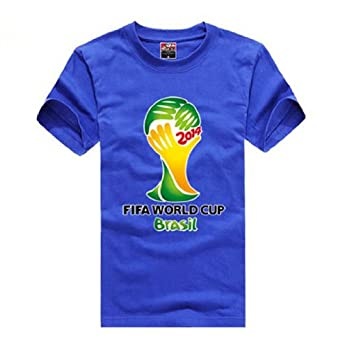 Fifa World Cup Unisex Base T-shirt ,X-small,blue
