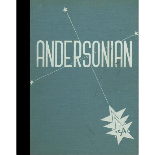 (Reprint) 1954 Yearbook: Anderson High School, Cincinnati, Ohio Anderson High School 1954 Yearbook Staff