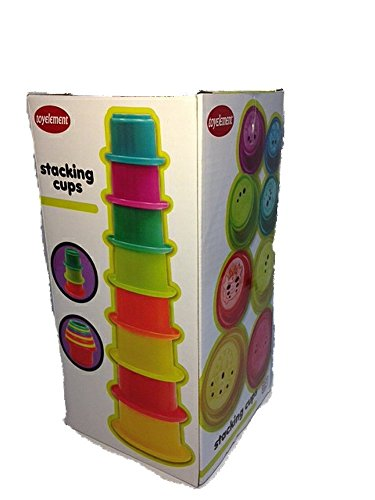 Baby Stacking Cups by Toy Element