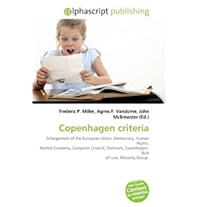 Copenhagen Criteria: Amazon.co.uk: Books