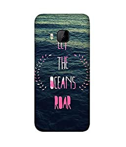 Ocean Roar Back Cover Case for HTC One M9+
