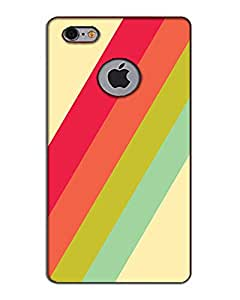 3D I phone 6 logo Cut Mobile Cover Case