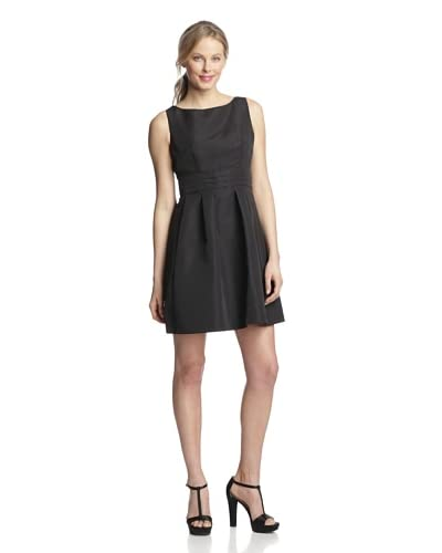 Taylor Women's Fit-and-Flare Dress with Pleats