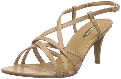 ESPRITDor Sandal - Sandali a Punta Aperta Donna , Marrone (Braun (235 caramel)), 40