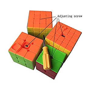 The Speed Puzzle Magic Cube Set Cube Pack (Pack of 2x2x2 , 3x3x3 , 4x4x4 , 5x5x5)