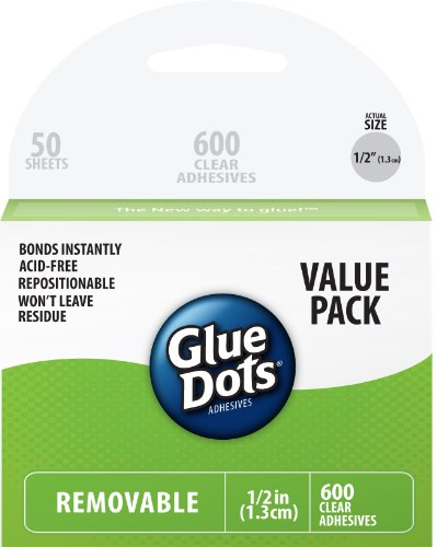 Glue Dots Removable Sheets Value Pack