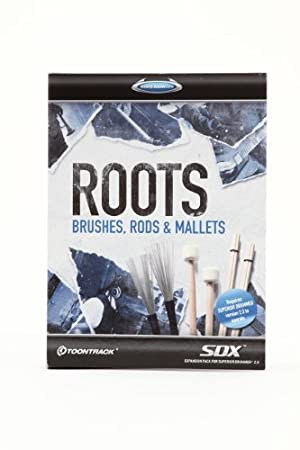 Toontrack Roots SDX - Brushes, Rods, and Mallets