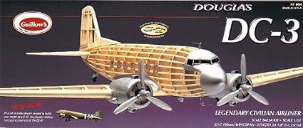 Maquette en bois - Douglas DC-3