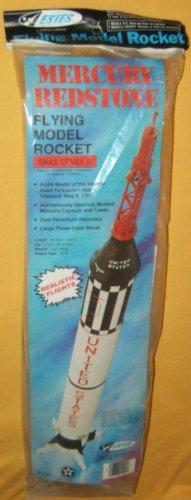 ESTES MERCURY REDSTONE MODEL ROCKET KIT #1921 VINTAGE 1975