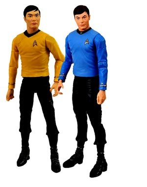 Diamond Select Toys Star Trek The Original Series Action Figure 2Pack Dr. McCoy & Lt. Sulu