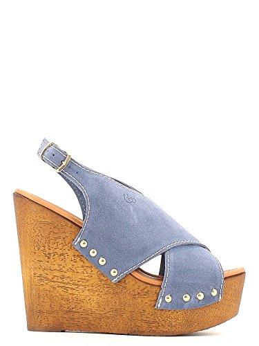 Byblos blu 662303 Sandalo zeppa Donna Jeans 40