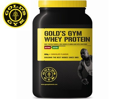 Gold's Gym Whey Protein Powder - Chocolate 800g