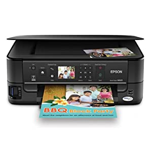 Epson Stylus NX625 Color InkJet All-in-One