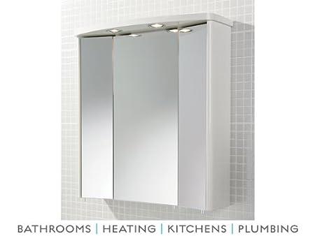 3 Door Mirror Cabinet