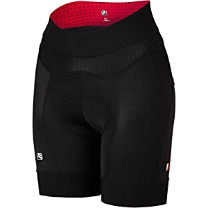 Giordana FormaRed Carbon Women's Shorts Black/Black, XS