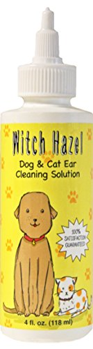 Witch Hazel Dog And Cat Ear Cleaner Naturally Heals Pet