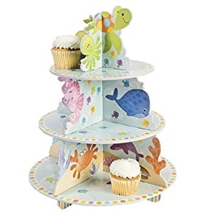 Under The Sea Cupcake Holder - Party Decorations & Cake Decorating Supplies