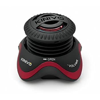 The Kinivo ZX100 Mini speaker with rechargeable battery is engineered  to deliver a superior full-bodied, 360-degree sound. The compact,  portable speaker is the best pocket size sound-box to enjoy your tunes  anytime, anywhere.Key Features- Modular ...