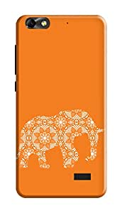 Huawei Honor 4X Hard Case Kanvas Cases Premium Quality Designer 3D Printed Lightweight Slim Matte Finish Back Cover for Huawei Honor 4X
