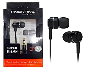 Ambrane Premium Sound Magic Wired Earphone for Alcatel One Touch Pop C5
