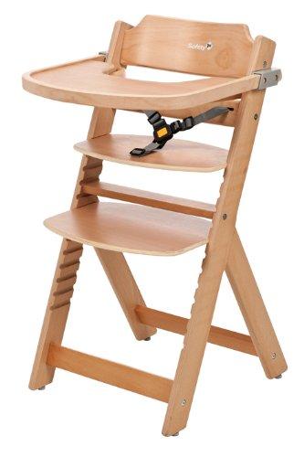 opiniones de safety 1st 27630101 timba trona con bandeja cintur n de 3 puntos de madera. Black Bedroom Furniture Sets. Home Design Ideas
