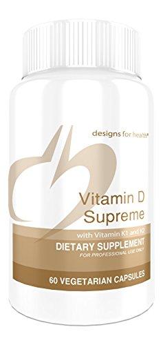 Designs for Health - Vitamin D Supreme, 60 Vegetarian Capsules