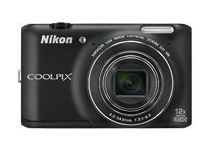 Nikon Coolpix S6400 Kompaktkamera (16 Megapixel, 12-fach opt. Zoom, 7,6 cm (3 Zoll) Touchscreen) schwarz
