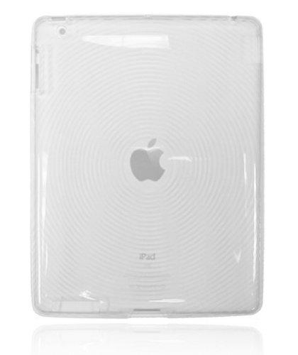 Fosmon Circle Design TPU Silicone Case for iPad 3/2 - Clear