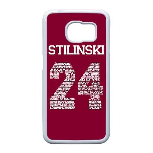 Design Cases Samsung Galaxy S6 Edge Cell Phone Case White Teen Wolf Stilinski 24 Eipdfe Printed Cover