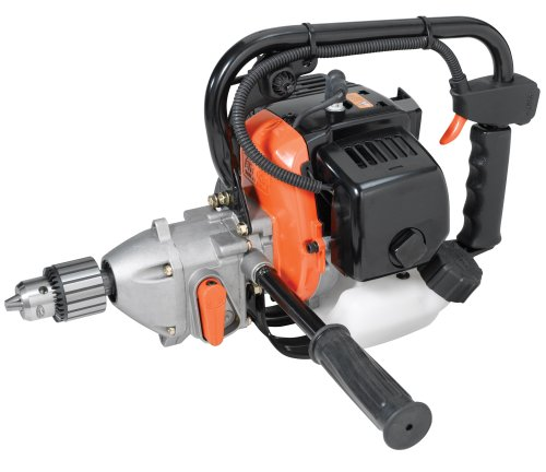Tanaka Commercial Grade 27cc 1.4 HP Two-Stroke Gas Powered Drill With Reversing Lever (CARB Compliant) TED-270PFR