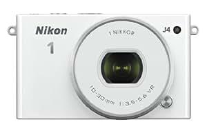 Nikon 1 J4 18.4MP Mirrorless Digital Camera with 1 Nikkor 10-30mm f/3.5-5.6 PD Zoom Lens (White)