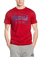 Lonsdale Camiseta Manga Corta Martock (Rojo)