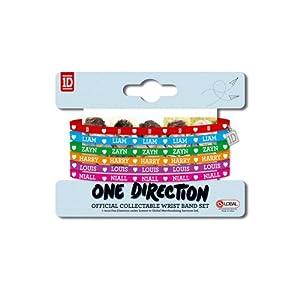 3x4 One Direction Gummy Bracelets from Global