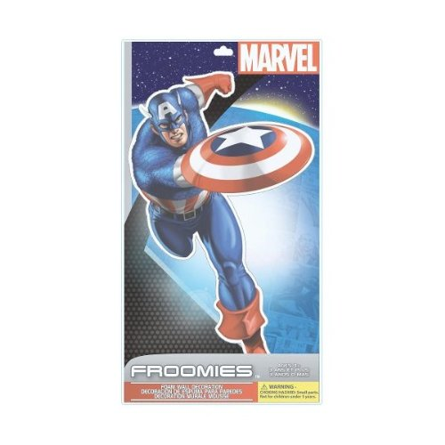 Marvel Handcut Froomies Foam Wall Decorations - Captain America - 1