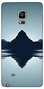 Snoogg Moutain Lakes Designer Protective Back Case Cover For Samsung Galaxy N...