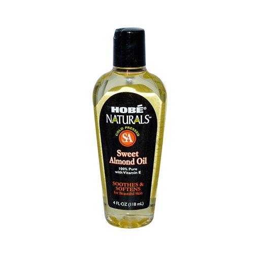 Hobe Labs Hob Naturals Sweet Almond Oil 4 Fl Oz