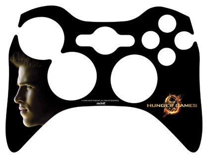Skinit The Hunger Games -Gale Hawthorne Vinyl Skin for 1 Microsoft Xbox 360 Wireless Controller